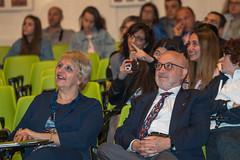 Elisabetta Marcolini con Arnaldo Porro
