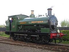 IMG_4719 - GWR Hudswell Clarke Saddle Tank 813 (SVREnthusiast) Tags: didcotrailwaycentre didcot railway centre gwrhudswellclarkesaddletank813 gwr hudswellclarke saddletank 813
