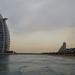 Overcast skies in Dubai