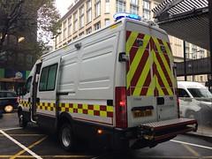 LFB DIM (slinkierbus268) Tags: lfb london fire brigade iveco dim detection identificaton monitoring unit lambeth dowgate firestation fireengine fireappliance bluelights central
