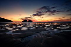 Last Light (Project 13a/52) (Frosty__Seafire) Tags: holywell beach cornwall sigma 1020 water sunset