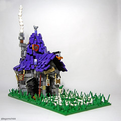 Witch House (Takamichi Irie) Tags: lego house witch building archtecture fairy tale