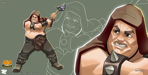 Character designer - ilustration 35