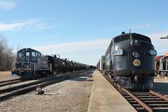CGW 116A (CC 8039) Tags: cgw ianr cnw trao trains fp7 sw1 oelwein iowa