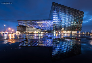 Harpa Concert Hall - Reykjavik {Explore}