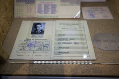Papers of an East German cadet (quinet) Tags: 2016 berlin eastgermany gdr museuminderkulturbrauerei germany