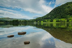 Calm (Future-Echoes) Tags: 5star 2016 calm cloud cumbria lake mountain reflections rock rydal thelakedistrict water