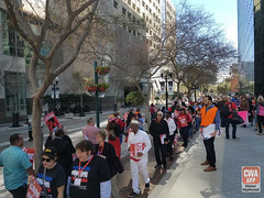 Orlando Rally to Defend the ACA (CWA Union) Tags: mobileapp phew healthcare