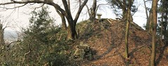 atop Mt. Okamoto's north end (anthroview) Tags: panorama canons110 stitchedpanorama fukuiken ruraljapan 武生、越前市、915 福井県、 okamotoyama shinto