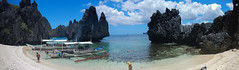 Hidden Beach (Pabile) Tags: elnido mimaropa philippines ph palawan panorama nikon aw110 coolpix hidden beach