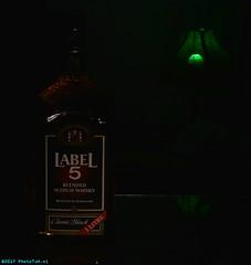 Label 5, Scotch Whisky. (PhotoTJH) Tags: phototjh phototjhnl scotch whisky whiskey blended alcohol boose drank liquor alcoholic classicblack bottle fles label5