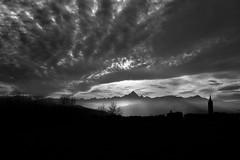Monviso in black (lightdose) Tags: bianconero bw blakandwhite alpi alps skyporn clouds