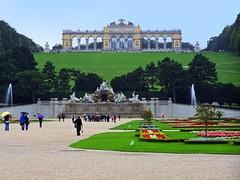 Gloriette and Schönbrunn gardens (mmalinov116) Tags: schönbrunn vienna austria gloriette garden palace architecture австрия виена глориета градина