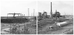 Hudson Generating Station (devb.) Tags: bronica mediumformat ilforddelta100 hc110 jerseycity hudsongeneratingstation