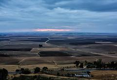Sunrise View from Carmona (cheryl strahl) Tags: spain carmona 14thcenturyarabfortress andalasia plain sunrise olivegroves hdr paradordecarmona