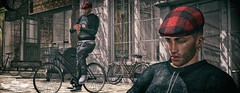 La Bicicleta ♫♪ (Murilo Tempest) Tags: moh hipsterstyle bicycle bike comesoonposes avatar alone aoarlivre tempest photograph photo photographer pose cap guys guy