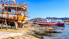Boatyard (Kevin R Thornton) Tags: d90 nikon monastiri mediterranean greece boatyard paros travel transport egeo gr