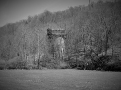 coal silo from abandoned WV mine (photography_isn't_terrorism) Tags: coal coalsilo coalmine concrete abandoned neglected rusting decay hidden wv westvirginia