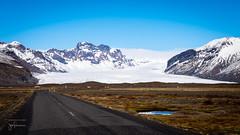 Skaftafellsjökull glacier (josefrancisco.salgado) Tags: d4 easternregion iceland nikkor nikon raw268 carretera glaciar glacier mountain nieve road snow vatnajökullnationalpark montaña skaftafellsjökullglacier 2470mmf28g