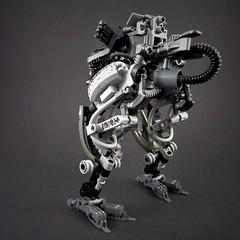 StraußMecha (Marco Marozzi) Tags: lego llegodesign legomech logomecha mecha mech moc marco marozzi mak dieselpunk drone vertical tank maschinen krieger walker