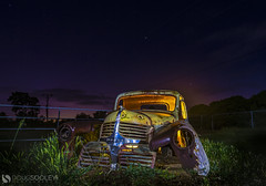 Dodge This (dougsooley) Tags: longexposure longexposures lightpainting lightpaint lightpaintingphotography dougsooley canon canon1dx canonlenses canonlens hdr hdrphotography truck night nightsky nightshooting nightphotography nighttime