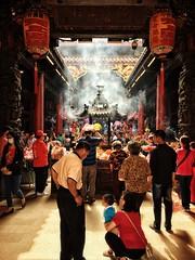 保佑 (Jason Cheng27) Tags: 廟 鎮瀾宮 大甲 臺中 台灣 祈求 保佑 文化