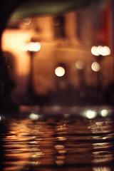 Alte Oper (Dan Idoine) Tags: blurry blur bokeh canon 50mm 095 f095 dreamlens dream light night nightscape ripples water fountain street reflection frankfurt alteoper germany