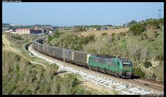 TECO en St. Sadurní (javier-lopez) Tags: ffcc railway train tren trenes adif comsa crt comsarailtransport mercancías teco contenedor contenedores 601 bitrac lgnss laagrss transfesa cimar barcelonacantunis elespartal stsadurní anoia cava cavas freixenet 06042017