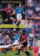 Manchester City vs Derby County - 1998 - Page 20 (The Sky Strikers) Tags: manchester city derby county worthington cup road to wembley maine official matchday magazine one pound eighty