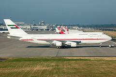 A6-COM - Dubai Air Wing - Boeing 747-433(M) (5B-DUS) Tags: a6com dubai air wing boeing 747433m b747 b744 747400 dus eddl dusseldorf düsseldorf international airplane airport aviation aircraft flughafen fra planespotting plane spotting