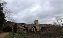Empordà_1344 (Joanbrebo) Tags: garrotxa girona pont puente bridge arquitectura landscape paisaje paisatge canoneos80d eosd autofocus clouds nubes nuvols romanico efs1018mmf4556isstm