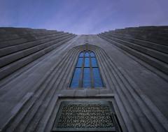 carried in (johndifool) Tags: reykjavik window church hallgrímskirkja 7dwf crazytuesdaytheme crazywindows cathedral kathedrale eingang entrance island iceland