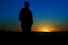 Good Friday sunset, Daniel silhouette (allendc33) Tags: marthasvineyard oakbluffs edgartown sunset silhouette marthasvineyardlife