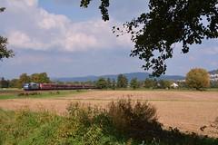 151 127(RBH 274)und 151 079(RBH 271) (Daniel Powalka) Tags: train nikon track feld himmel loco landschaft railways baum railroads freighttrain strecke rbh bergstrasse br151 lokfhrer gterzge d7100