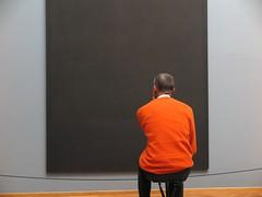 Contemplation (pienw) Tags: painting exhibition rothko thehague watchers markrothko gemeentemuseumdenhaag