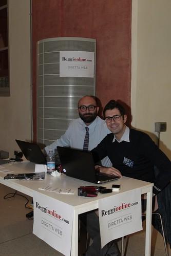 Davide Bianchini e Alessio Fontanesi