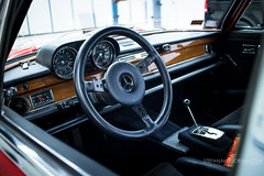 MB-5684 (Stefan Marjoram) Tags: red car mercedes pig sketch die drawing garage racing 63 workshop say spa amg 68 rote 300sel