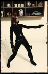 Natasha is Annoyed (ShellyS) Tags: cameraphone actionfigures blackwidow sfx hottoys explored natasharomanova