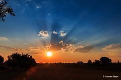 Highveld Sunset (hannes.steyn) Tags: sunset red sky sun nature canon landscapes scenery dusk 10000 70d i500 hannessteyn canoneos70d tamron16300mmf3563diiivcpzdmacro
