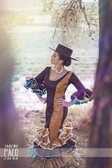 . (Paco Jareño Zafra) Tags: españa naturaleza beauty canon arte gorro tamara spanish campo sombrero flamenco vestido español 6d sevillana bailaora pacosrulz tamajare