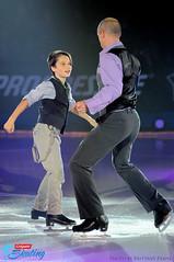 Kurt Browning and son Gabriel