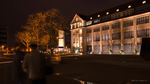 Karlsruhe at night