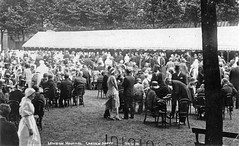 Garden Party, London Hospital (robmcrorie) Tags: party london history hospital garden patient health national doctor nhs service british nurse healthcare 1930