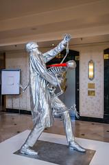 (wongwt) Tags: statue germany hotel frankfurt scenary hesse steigenbergerhotel nex6 sel24f18z