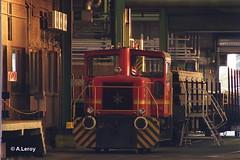 Arcelor Mittal Lok 1 Henschel / 31230 / 1969 / DHG 240 B / B-dh Essen Stadthafen 10-11-2014 (Alex Leroy) Tags: b 1969 1 essen stadthafen 240 bdh lok arcelor dhg mittal henschel 31230 10112014