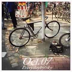 #everydaybybike #fixie #cycle #bike #opel #retro #vintage #mnster (Singlespeed2011) Tags: bike vintage square retro cycle squareformat fixie mnster opel iphoneography instagramapp