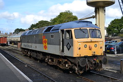 BR Grey 47306 @ Bodmin General (AJHigham) Tags: two grey br general diesel branded class gala tone 47 distribution bodmin railfreight 47306 liveried thesapper