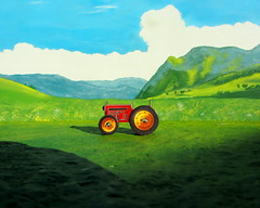 Boer'n Leven Leef Het: Boer'n Life Live It: Cardboard Tractor And Milk Tanker Models : Diorama - 12 Of 25 (Kelvin64) Tags: life tractor milk live models it cardboard het and leef diorama tanker leven boern