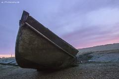 Riverside Shipwreck (Adam Runnalls) Tags: uk water sunrise river coast boat kent nikon sigma shipwreck medway nikond3200