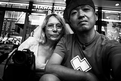 * (Dance with the Strangers) Tags: people monochrome japanese tokyo blackwhite photographer 28mm streetphotography documentary ricoh 2014 candidportrait tokyocity oshiage urbanasia skytree grd4 eliz
